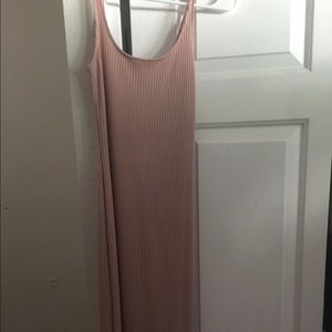 Urban outfitters size:xs. Pastel pink long dress